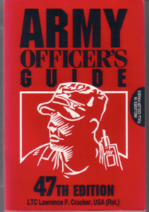 ARMY OFFICER'S GUIDE :: 47th Edition
