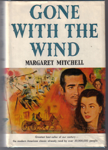 GONE WITH THE WIND :: 1964 HB w/ DJ      Pic 1