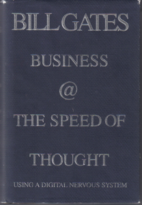 BUSINESS @ THE SPEED OF THOUGHT  HB w/ DJ by Bill Gates       Pic 1