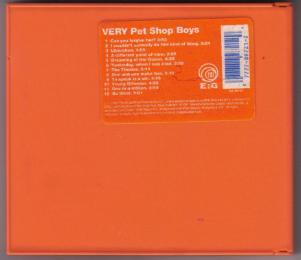 Pet Shop Boys :: VERY :: CD Pic 2