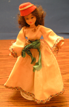 FLAGG DOLL :: Nationality Woman # 9 Pic 1