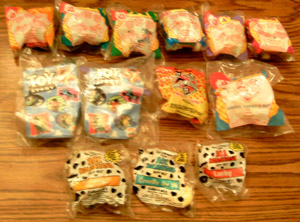 Lot of 12 MIP Fast Food Toys plus ..       Pic 1