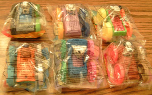 Lot of 12 MIP Fast Food Toys plus ..      Pic 4