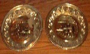 3 Gold-colored Decorative Round Trays Pic 2