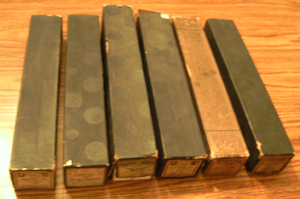 LOT of 6: Player Piano Rolls :: Lot # 1    Pic 1