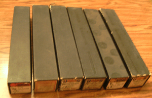LOT of 6: Player Piano Rolls :: Lot # 4    Pic 1