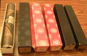 LOT of 6: Player Piano Rolls :: Lot # 7    Pic 1