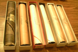 LOT of 6: Player Piano Rolls :: Lot # 7   Pic 2