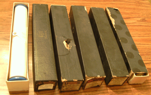 LOT of 6: Player Piano Rolls :: Lot # 8    Pic 1