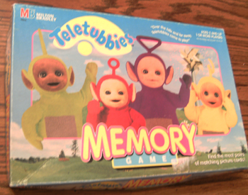 TELETUBBIES MEMORY GAME :: MB, 1998    Pic 1
