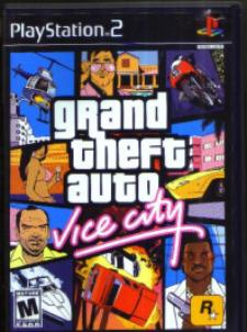Grand Theft Auto Vice City Playstation 2 Game Pic 1