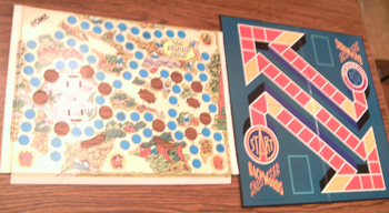 Lot of 8 Board Game gameboards from the 1980s : Lot # 2     Pic 2