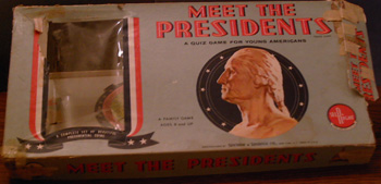 MEET THE PRESIDENTS :: Family Board Game   Pic 1