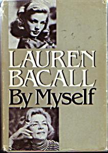Lauren Bacall book front cover