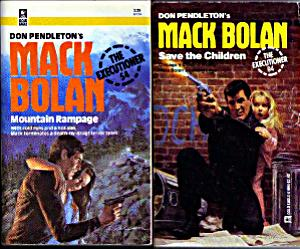 Lot of 3: Mack Bolan PBs by Don Pendleton Pic 1