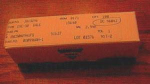 Lot of 100: Vishay Dale RNC50H2941FS Military Metal Film Resistors Pic 1