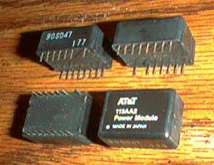Lot of 4: AT&T 113AA2 Power Modules