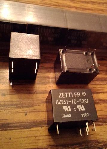 Lot of 24: Zettler AZ951-1C-5DSE Relays