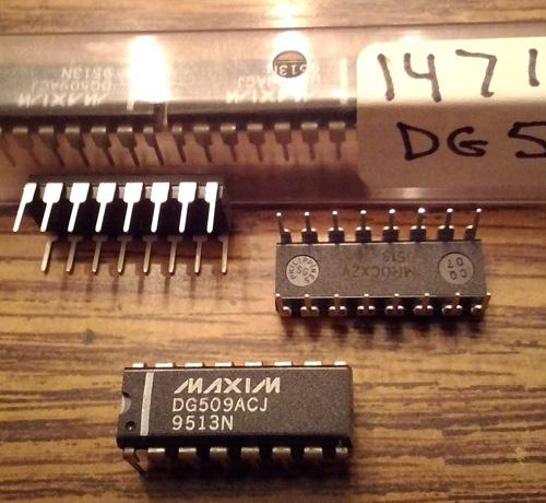 Lot of 6: Maxim DG509ACJ