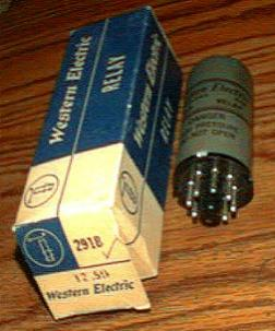 Western Electric 291B Relay Pic 1