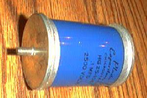 Plastic Capacitors, Inc. HG25-104 :: .1MFD 2500 VDCW Pic 1
