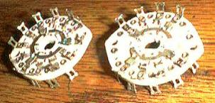 Pair: CENTRALAB PA-6 :: 5 POL 3 POS Shorting Switch Sections Pic 2