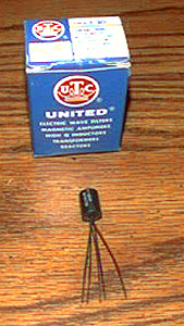 United Transformer Co. DO-T 20 Output Transformer    Pic 1
