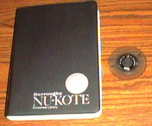 Burroughs NU-KOTE Printwheel Library :: 8 Printwheels Pic  2