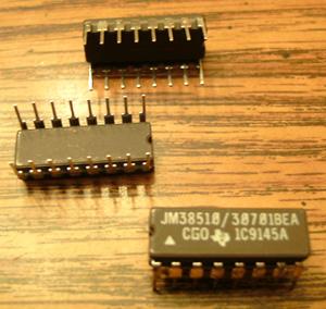 Lot of 6: Texas Instruments JM38510/30701BEA