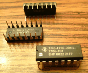 Lot of 25: Texas Instruments TMS4256-20NL
