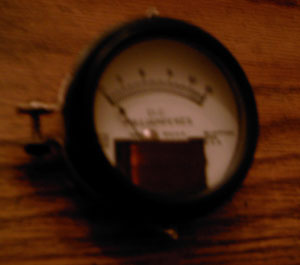 Readrite Model 55 315 0-15 D.C. Milliamperes Panel Meter Pic 1