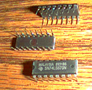 Lot of 25: Texas Instruments SN74LS670N Pic 2
