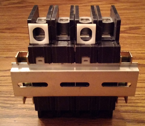 Lot of 2: Square D 25A 2 Pole Type QOU Circuit Breakers Pic 2