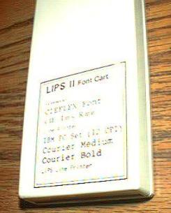 CIEFLEX LIPS II Font Cartridge for Line Printer Pic 1
