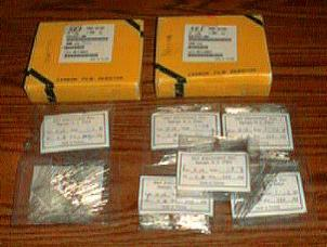 Over 1300: SEI CF 1/8 1-0K Ohm Carbon Film Resistors Pic 1