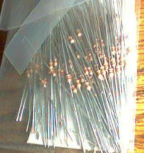 Over 1300: SEI CF 1/8 1-0K Ohm Carbon Film Resistors Pic 2