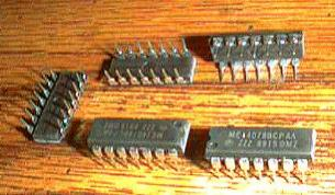 Lot of 5: Motorola MC14078BCPAA Pic 2