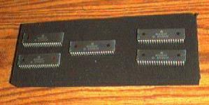 Lot of 5: Motorola MC6800P Pic 1