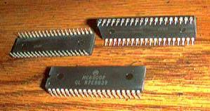 Lot of 5: Motorola MC6800P Pic 2