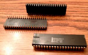 Lot of 6: Intel P8085AH-2