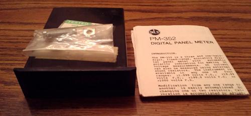Non-Linear Systems PM-352 Miniature AC & DC Voltmeter