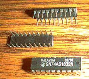 Lot of 7: Texas Instruments SN74AS1832N Pic 2
