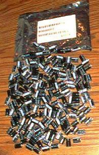 Lots of 200: 100V 47UF Capacitors Pic 1