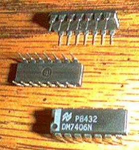 Lot of 30: National Semiconductor DM7406N Pic 2