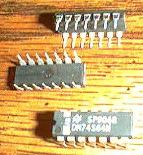 Lot of 44: National Semiconductor DM74S64N Pic 2