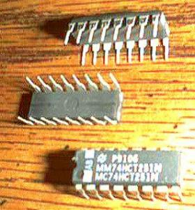 Lot of 21: National Semiconductor MM74HCT251N MC74HCT251N  Pic 2