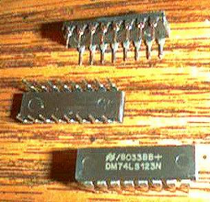 Lot of 20: National Semiconductor DM74LS123N Pic 2