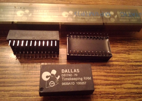 Lots of 7: Dallas DS1742-70 Timekeeping RAM