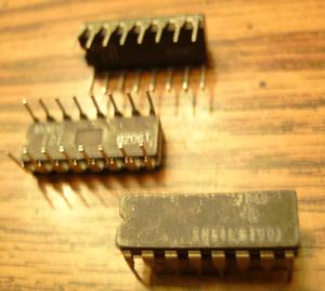 Lot of 11: Texas Instruments SN54LS190J