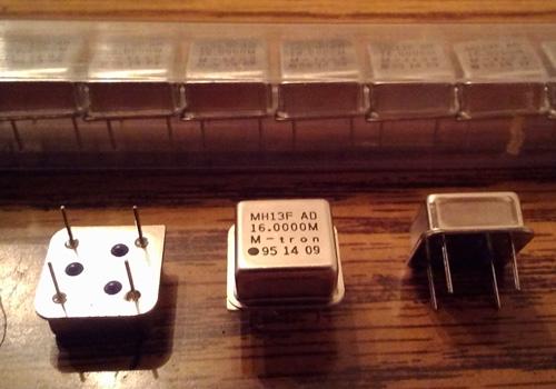 Lots of 25: M-tron MH13FAD 16.0000 MHz Oscillators